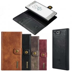 Mobilplånbok Magnetisk DG-Ming Sony Xperia X Compact