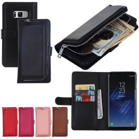 Mobilplånbok 2i1 myntfack Samsung  Galaxy S8 Plus