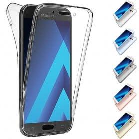 360 heltäckande silikon skal Galaxy A3 2017