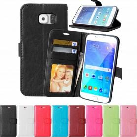 Matkapuhelin lompakko 3-kortti Samsung Galaxy S6