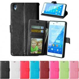 Mobil lommebok 3-kort Sony Xperia Z3 +