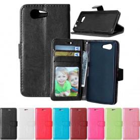 Kannettava lompakko 3-kortti Sony Xperia Z3 Compact