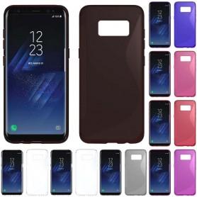 S Line silikon skal Samsung Galaxy S8
