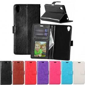 Mobilplånbok 3-kort Sony Xperia E5