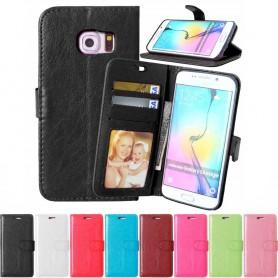 Matkapuhelin lompakko 3-kortti Samsung Galaxy S6 Edge