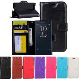Mobilplånbok 3-kort Sony Xperia XZ Premium G8141