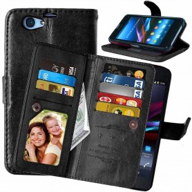 Dubbelflip Flexi Sony Xperia Z1 Compact