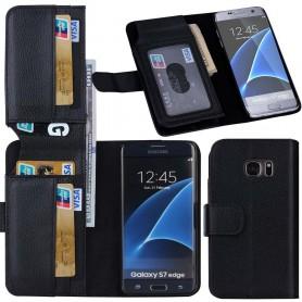 Multiplånbok 7 kort Galaxy S7 Edge SM-G935F