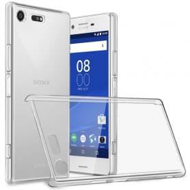 Clear Hard Case Sony Xperia XZ Premium (G8141) transparent mobil skal