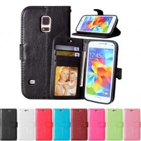 Mobilplånbok 3-kort Samsung Galaxy S5 Mini SM-G800F