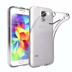 Silikonikuori tpu läpinäkyvä Samsung Galaxy S5 SM-G900F