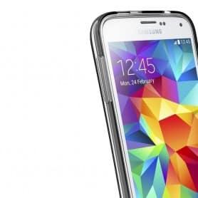Samsung Galaxy S5 Mini SM-G800F Silikon Gjennomsiktig TPU