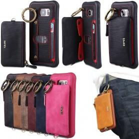 BRG-kuori 2i1 irrotettavalla lompakolla Samsung Galaxy S7 Edge SM-G935F