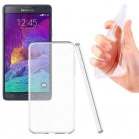 Samsung Galaxy Note 4 SM-N910F -silikonin on oltava läpinäkyvää