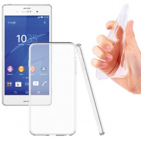 Sony Xperia Z3 TPU Silikonetui Gjennomsiktig