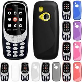 S Line silikon skal Nokia 3310 (2017) mobil tillbehör CaseOnline.se