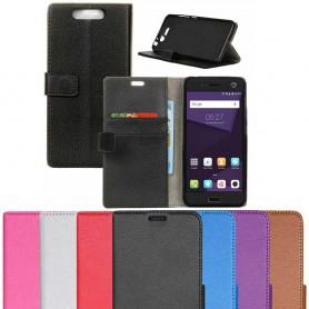 Mobilplånbok 2-kort silikon ZTE Blade V8 skal CaseOnline
