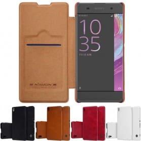Nillkin Qin Series FlipCover Sony Xperia XA mobilskal caseonline