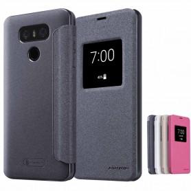 FlipCover Nillkin Sparkle LG G6 H870 mobiltelefon tilfelle CaseOnline.se