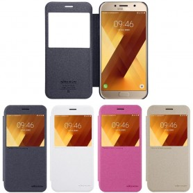FlipCover Nillkin Sparkle Samsung Galaxy A3 2016 SM-A310F mobilveske CaseOnline.se