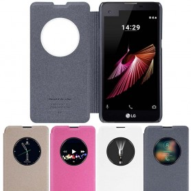 FlipCover Nillkin Sparkle LG X Screen K500N mobilskal CaseOnline