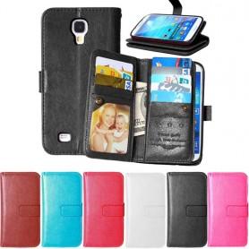 Mobilplånbok Dubbelflip Flexi Galaxy S4 Mini GT-i9190 8-kort CaseOnline.se