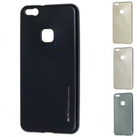 Mercury i Jelly Metal skal Huawei P10 Lite, silikon mobil skydd caseonline