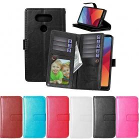 Dubbelflip Flexi 9 kort LG G6 H870 mobil skal CaseOnline.se