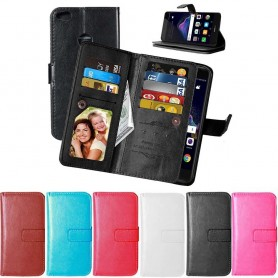 Mobilplånbok Dubbelflip Flexi 9-kort Huawei P8 Lite 2017/Honor 8 Lite