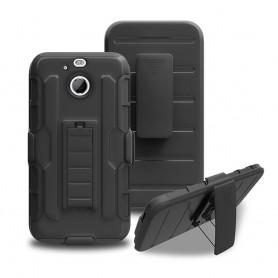 Støtsikkert skall med hylster HTC 10 EVO belte linning