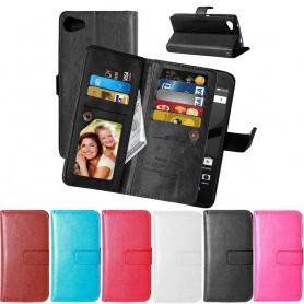 Kaksinkertainen käännettävä Flexi 9 -kortti Sony Xperia Z5 Compact matkapuhelimen kotelo