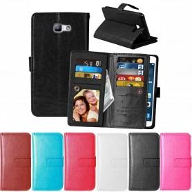 Mobil lommebok Dobbelt flip Flexi Galaxy A3 2016 beskyttelsesdeksel for mobil
