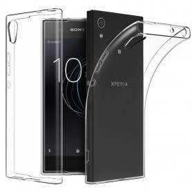 Sony Xperia L1 Silikon skal Transparent mobil skydd
