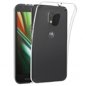Motorola Moto E3 (3rd Gen) Silikon skal Transparent mobil skydd