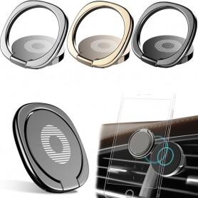Baseus Privity Air outlet Mobilhållare, Fingerring, Selfiering