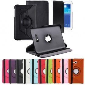 """Lærveske 360 roterbar Galaxy Tab 3 Lite 7.0 """"SM-T110"""