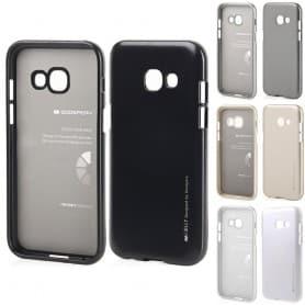 Mercury i Jelly Metal skal Samsung Galaxy A3 2017 SM-A320F silikon skydd