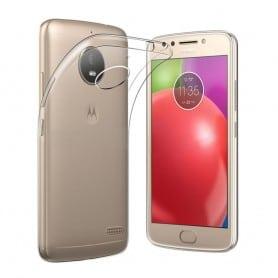 Motorola Moto E4 Plus Silikon skal Transparent mobilskal skydd