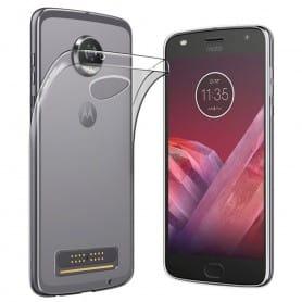 Motorola Moto Z2 Play Silikon skal Transparent mobilskal skydd