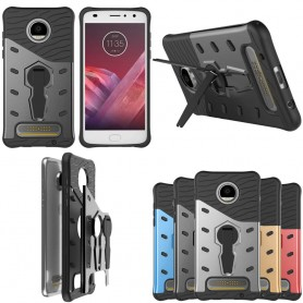 Sniper Case mobil deksel med stativ Motorola Moto Z2 Play XT1710 caseonline
