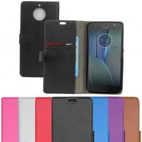 Mobilplånbok 2-kort Motorola Moto G5S Plus mobilskal fodral skydd silikon caseonline