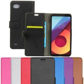 Mobil lommebok 2-kort LG Q6 M700 etui beskyttelse