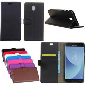 Mobilplånbok 2-kort Samsung Galaxy J3 2017 SM-J330F mobil skal caseonline