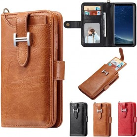 Multi Wallet 3i1 9-kort Samsung Galaxy S8 Plus SM-G955F Mobil lommebokveske