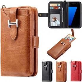 Multi Wallet 3i1 9 -kortti Samsung Galaxy S7 Edge SM-G935F matkapuhelinkotelo