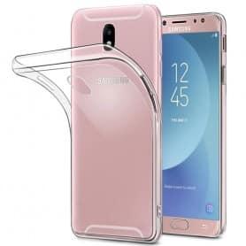 Samsung Galaxy J3 2017 SM-J330F tunt Silikon skal Transparent