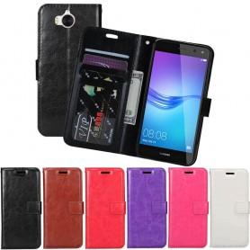Mobilplånbok 3-kort Huawei Y6 2017 MYA-L41 mobilskal fodral skydd