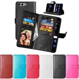 Mobilplånbok Dubbelflip Flexi 9-kort Huawei Honor 9 (STF-L09) mobilskal fodral