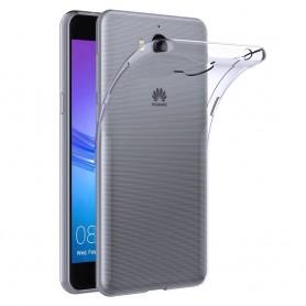 Huawei Y7 2017 TRT-LX1 Silikon skal Transparent mobilskal skydd tpu