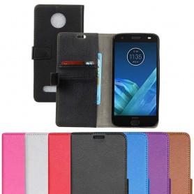 Mobilplånbok 2-kort Motorola Moto Z2 Force mobilskal skydd fodral